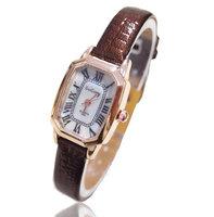 Wholesale women wristwatches ladies fashion leather strap quartz watch Women watches  FS136