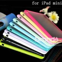 Durable Transparent Hybrid Bumper Tpu+Pc Transparent Case Cover For Ipad Mini 2 1