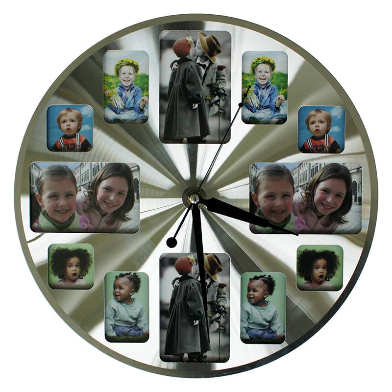 Digitaler Bilderrahmen Uhr Bilderrahmen Wand Uhr