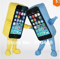 EMS free shipping Mascot Costume Cell Phone Apple iPhone 5C Adult Size SALE