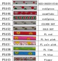 (1200pcs/lot)  12 colours mix flower christmas design Paper Straws Wholesale Paper Drinking Straws  DHL/EMS/FEDEX