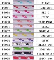 (2200pcs/lot)  polka dot Paper Straws Wholesale Paper Drinking Straws Free Shipping Via DHL/EMS/FEDEX