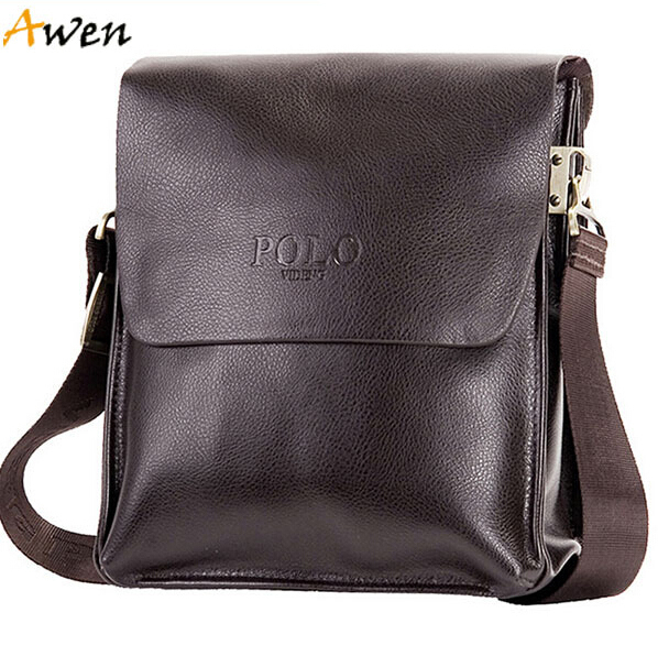 AWEN-free shipping hot sell promotion genuine leather bag,new arrival mens shoulder bag,italian leather messenger bag,brand bags(China (Mainland))