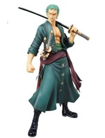 Brand New in Box One Piece The New World Sailing Again P.O.P RORONOA ZORO Figure