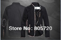 Free shipping 2014 brand men jacket , thin coat men M L XL XXL  3XL 4XL 5XL