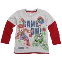 FREE SHIPPING A3696# Nova baby boys clothing cotton long sleeve  t shirts with printed cartoon