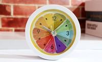 Colorful  Comfortable Alarm Clock Desktop Table Clock Children Bedside Study room Despertador NZ0003