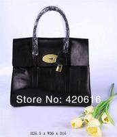 2014 Fashion New Women Genuine Leather Bayswater Totes Handbags Designer Brand Ladies bags EMS Free Shipping Original Quality