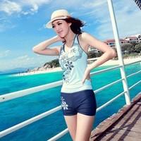 HT-07 Sports swimwear Female swimsuit Split swimwear women Swimsuit