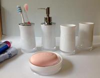 Fashion Bathroom Set ( 5 in ONE ) Bath Set,Bathroom Accessories,Bath Gift Set bath accessories