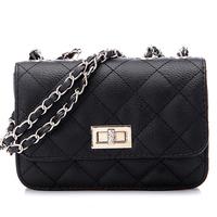 women handbag women leather handbags pu women messenger bags chain plaid embroidery shoulder bags women x0095