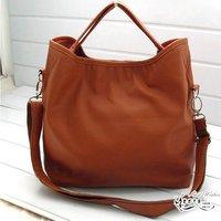 Hot selling 2013 women's handbag elegant star style handbag messenger bag shoulder bag black brown  women handbags
