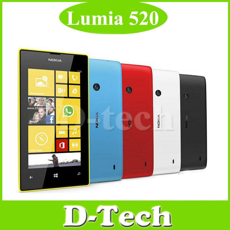 Nokia-Lumia-520-mobile-phone-Unlocked-520-mobile-phone-Windows-OS-Dual