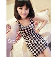 S152 Dresses fashion summer woman clothes skull girl dress sundress 5pcs/lot free shipping