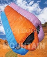 Free Shipping Low Price High Quality Nice Performance Well Insulation 3-Season Duck-Down Camping Trekking Mummy Sleeping Bag