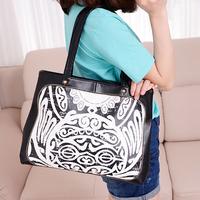 women handbag women leather handbags pu women messenger bags block print brief women travel bags handbags totes bags x0098