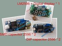 Free shipping! 1Set=5pcs LM2596 Step-down module kit DC-DC LM2596S module LM2596 power supply module 3A adjustable buck module