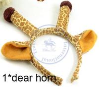 deer horn horse ear Hairband tie hair hand hoop tools Maker bangs forehead decoration head band CN post