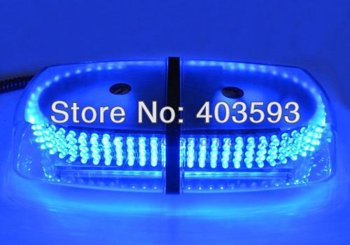 240 LED Car Auto Roof Flash Strobe Magnets 8 Modes Emergency Warning Police Light Shell Dual(China (Mainland))