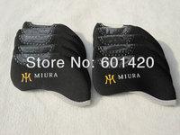 Irons Headcover for MIURA Golf 10pcs/set Black color