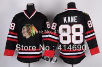 Free Shipping  Cheap Authentic Chicago Blackhawks Ice Hockey Jerseys #88 Patrick Kane Jersey Wholesale Mix Order