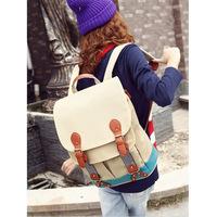[ 2014 ] Love Rain allow new children Shana same paragraph backpack schoolbag travel bag canvas handbag