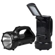 Dp Led-770 Searchlight 1w Emergency Light LED Portable Best Handheld Spotlight Cree T6 LED Flashlight Camping Rechargable Lamps(China (Mainland))