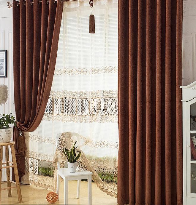Acquista all 39 ingrosso online clean room windows da - Tende soggiorno classico ...