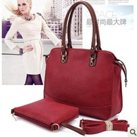 2014 Best Seller Genuine Leather Handbags Casual Women Shoulder Bags Purses 4 colors BH282+Free Shipping AR747 Q9