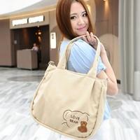 purse women Trend women's canvas  shoulder  messenger  casual  fashion all-match women's handbag magazine   shoulder bags