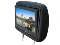best price made in China  9 inch taxi TFT LCD screen / advertising player / video player with a headrest + SD card updating