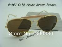 Best selling 3029 sunglasses, Men's/Women's sunglasses,designer Sunglasses Gold frame brown Lens