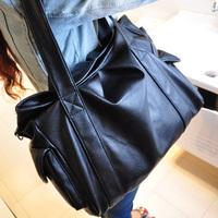 card holder purse women Women's handbag large capacity shoulder  messenger  big  work bags dual preppy style  shoulder bags