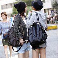 suitcase Bags  women's spring handbag patchwork plaid big bags  fashion women's handbag messenger   gym totes vintage clutch