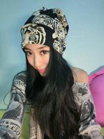 free shipping wholesale/Retail  ladies fashion tiger print lady headband