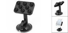 Car Vehicle Black Adjustable Mobile Phone MP4 MP3 Sucker Holder Stand