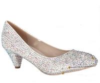 4023-2 2014 new Princess women's shoes wedding shoes platform high heels shoes women pumps Bling High Heels 5.5cm Pumps Shoes