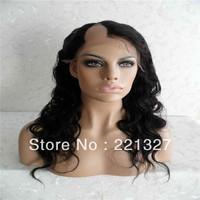 Hotsale virgin brazilian hair BodyWavy U part wigs, right part lace front wigs,U part wigs,10-24inch Freeshipping