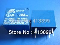 Brand New SONGLE Power Relay 10x  SRD-05VDC-SL-C 05VDC PCB Type