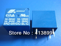 Brand New SONGLE Power Relay 10x  SRD-05VDC-SL-C 05VDC PCB Type
