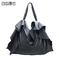 women's handbag 2014 fashion leather shoulder bag  large bags free shipping #3048