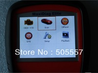 [Autel Honesty Distributor]Promotional  Autel Maxidiag Elite MD703( all systems ) Scanner +Free shipping