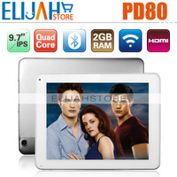 #Clean Stock - Freelander PD80 Vogue Exynos4412 Quad Core Tablet PC 9.7'' IPS 2GB/16GB Bluetooth Dual Camera HDMI Android 4.0
