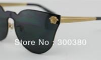 VE 2120 rimless metal edge of unisex sunglasses trend