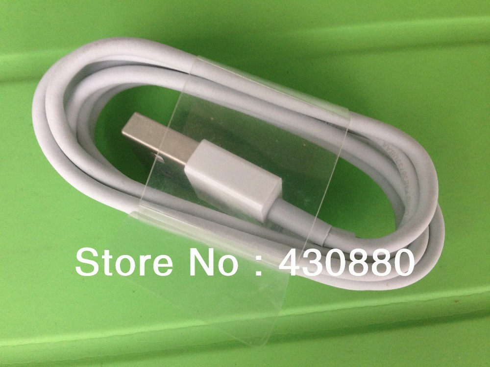 10pcs/lot Free shipping USB 2.0 HQ 8 pin Charger Cable For iPhone 5 5g 5S 5C iPad Mini iPod Touch 5 Nano 7 ios 7(China (Mainland))