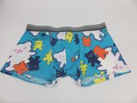 Mens Underwear Boxers Cueca Men Boxer Male Panties U Trunk 100% Comfortable Cotton Mid Waist Personality Cartoon Underpants 3