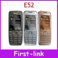 Free shipping Original Nokia E52 WIFI GPS 3G Unlocked cell phones 3.2mp camera 2.4 inch Screen