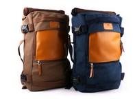 2014 Multifunctional large capacity backpack canvas shoulder bag man bag British style backpack new trend bag