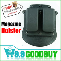6900 Tactical Holsters Double Magazine Paddle Pouch for glock M&P 9mm/.40 cal Bag,Free Shipping goodbuy