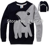 Lovely Elephant children kids boys girl's Sweatshirts Spring Autumn Casual children baby sweater clothing 2-8 old free shipping